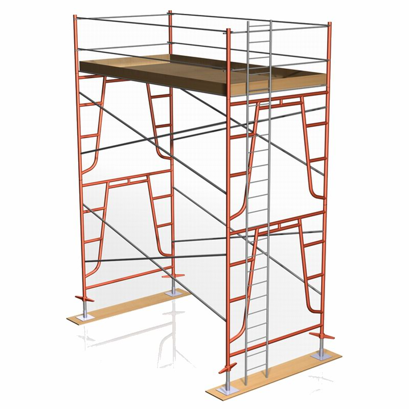 Access Laader for Scaffolding Frames