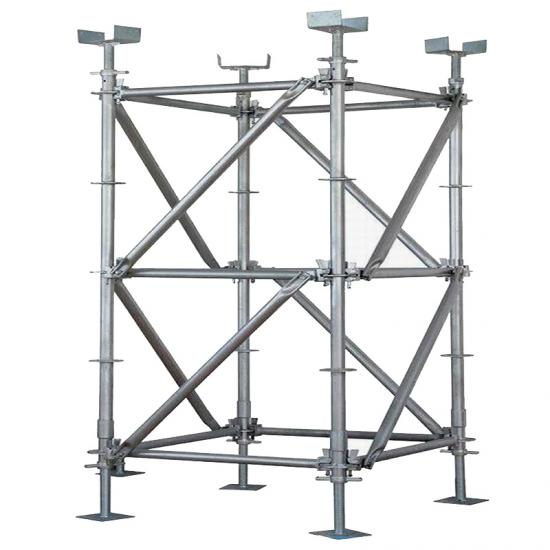 Ring Lock Shoring Scaffolding Diagonal Braces